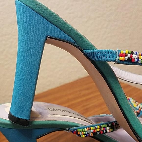 Bloomingdales Womens Sandals High Heels